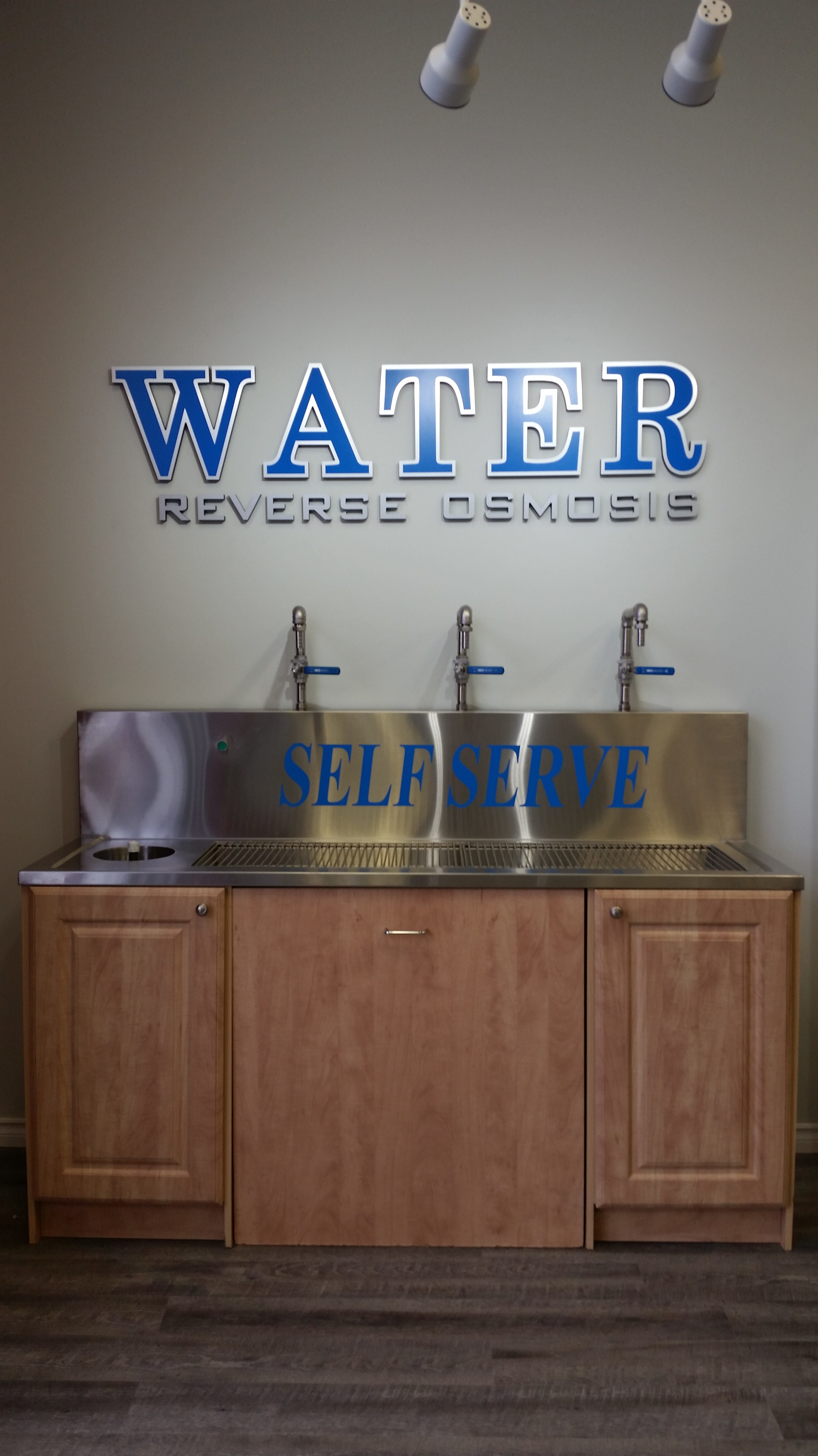 Water Jug Refill Station